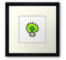 magic ring cartoon Framed Print