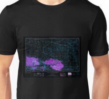 USGS TOPO Map California CA San Bernardino 299871 1953 250000 geo Inverted Unisex T-Shirt