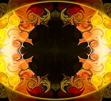 Undecided Bliss Abstract Healing Artwork  by owfotografik