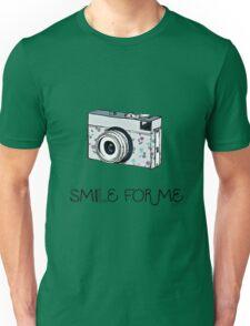 Smile for Me: Camera Unisex T-Shirt