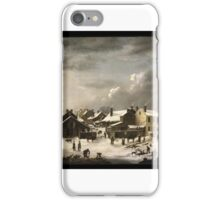 Francis Guy (American, ). Winter Scene in Brooklyn, ca. iPhone Case/Skin