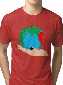 Humanity bites. Tri-blend T-Shirt