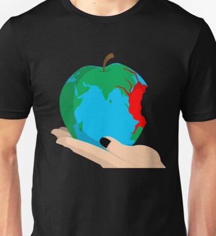 Humanity bites. Unisex T-Shirt