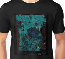 USGS TOPO Map California CA San Francisco South 300070 1956 24000 geo Inverted Unisex T-Shirt