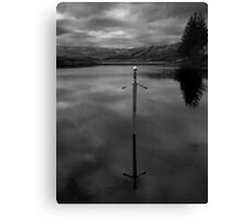 Bruces sword Canvas Print