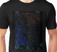 USGS TOPO Map California CA Sheepy Lake 295177 1985 24000 geo Inverted Unisex T-Shirt