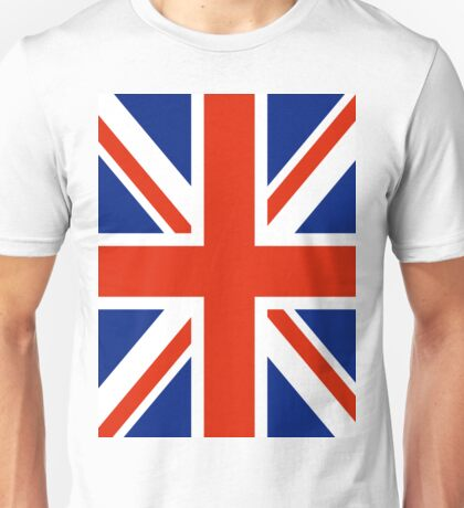 British UK Union Jack Flag Unisex T-Shirt