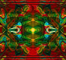 Nuclear Emotions Abstract Symbol Artwork  by owfotografik