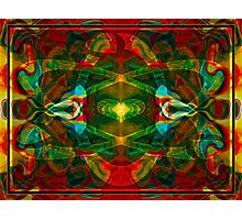 Nuclear Emotions Abstract Symbol Artwork  Photographic Print