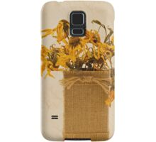 Gloriosa Daisy Flowers Withered Samsung Galaxy Case/Skin
