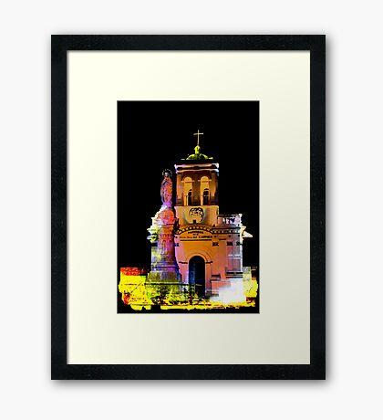 Iglesia Virgen De Bronce, Parroquia de Nuestra Senora del Carmen II Framed Print