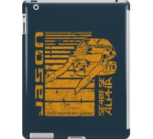 Deep Sea Jason iPad Case/Skin