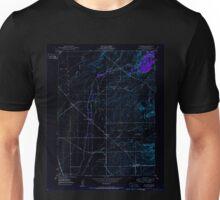 USGS TOPO Map California CA Shippee 300468 1950 24000 geo Inverted Unisex T-Shirt