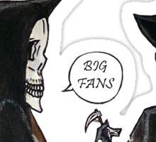 Big Fans Sticker