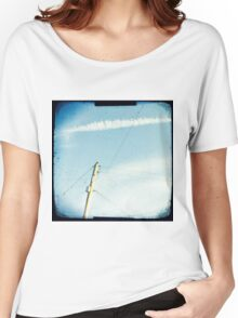 Crossed wires Women's Relaxed Fit T-Shirt