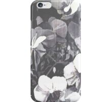 Bande camaïeu orchidées grain iPhone Case/Skin