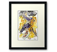 CatFish Dragon Framed Print