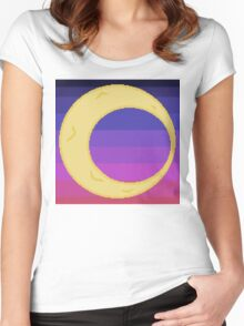 The Moon Women's Fitted Scoop T-Shirt
