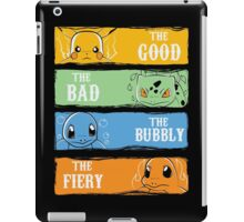The Good,The Bad,The Bubbly,The Fiery iPad Case/Skin