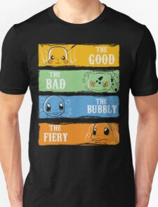The Good,The Bad,The Bubbly,The Fiery T-Shirt