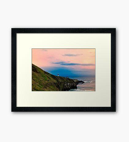 Newport Oregon - Yaquina Yaquina Framed Print