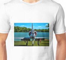 Marines A4L Skyhawk at the Golf Course Unisex T-Shirt