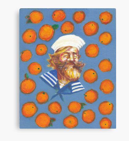 Gangplank LOVES oranges ! Canvas Print