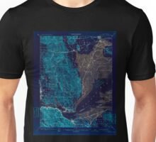 USGS TOPO Map California CA Carquinez 297031 1901 62500 geo Inverted Unisex T-Shirt