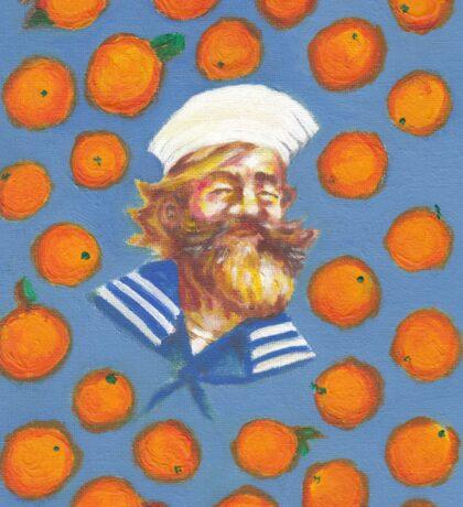 Gangplank LOVES oranges ! Sticker
