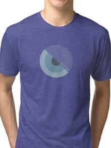"""""""modernism!"""" Blue Tri-blend T-Shirt"""