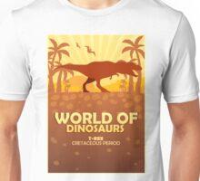 World of dinosaurs. Prehistoric world. T-rex Unisex T-Shirt