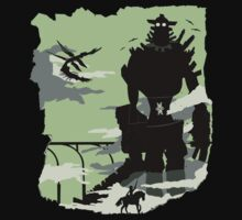 Silhouette of the Colossus Kids Clothes