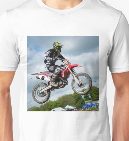Motorcross Rider Unisex T-Shirt