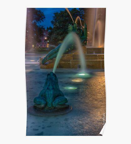 Swann Fountain Poster