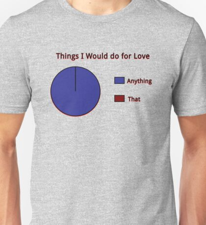 I'd do Anything! Unisex T-Shirt