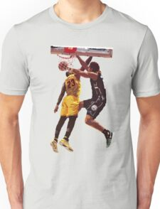 Malcolm Brogdon Dunk on LeBron James Unisex T-Shirt