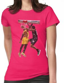 Malcolm Brogdon Dunk on LeBron James Womens Fitted T-Shirt