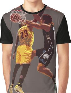 Malcolm Brogdon Dunk on LeBron James Graphic T-Shirt