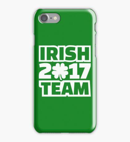 Irish 2017 team iPhone Case/Skin