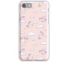 Chubby Little Unicorns iPhone Case/Skin