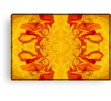 Energy Bodies Abstract Healing Artwork  Canvas Print
