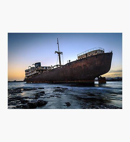 Telamon, AKA Temple Hall Shipwreck Photographic Print