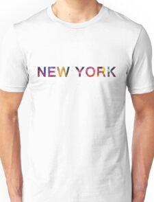 NEW YORK SPACE Unisex T-Shirt