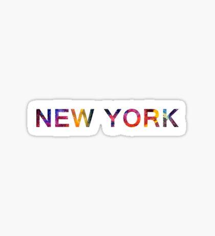 NEW YORK SPACE Sticker