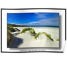 Traigh Eais Beach, Isle of Barra. Poster