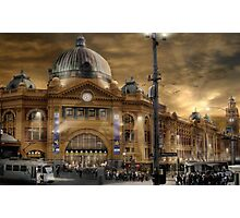 Flinders St Station  Photographic Print