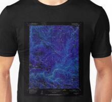 USGS TOPO Map California CA Slate Mtn 300524 1950 24000 geo Inverted Unisex T-Shirt