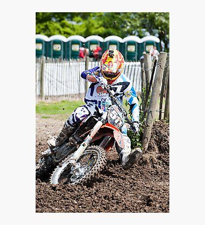 Motorcross Rider Photographic Print