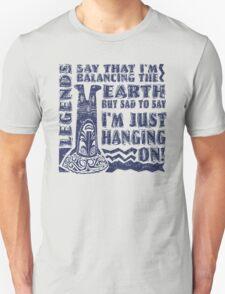 Ngendi, The Earth Balancer T-Shirt