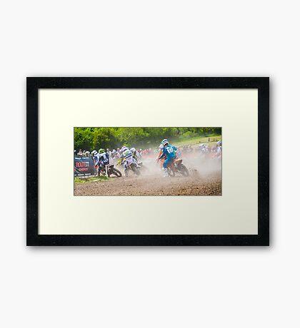 Motorcross  Framed Print